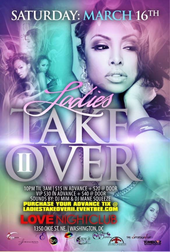 Ladies Takeover II in DC at Love Nightclub!