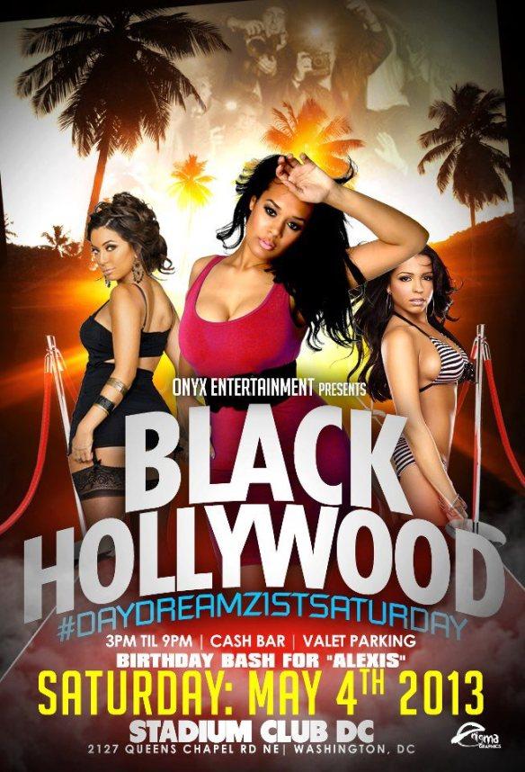 DJ MIM at The Stadium Club #BlackHollywood