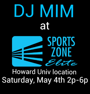 DJ MIM at Sports Zone