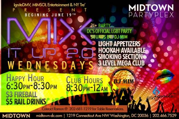 Mix It Up 2.0 Wednesdays at Midtown