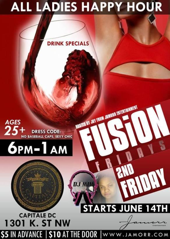 Fusion Friday's w/ DJ MIM