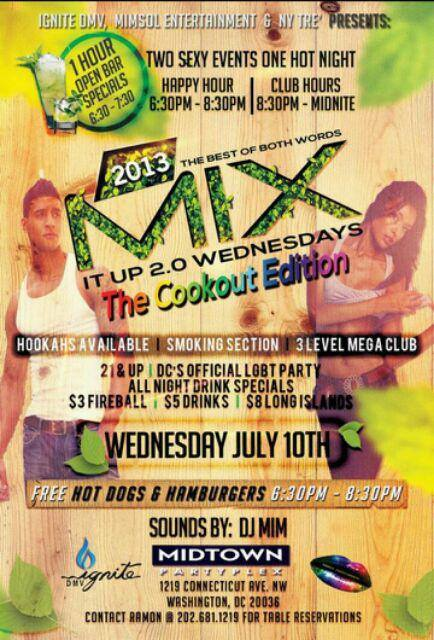 Mix It Up Wednesdays at Midtown