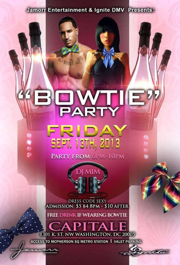 Bowtie Party at Capitale w/ DJ MIM