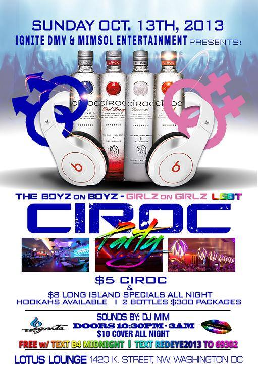MimSol Ent's Ciroc Party