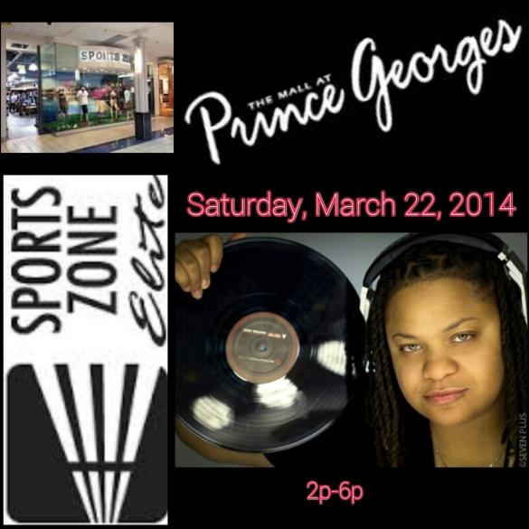 DJ MIM spinning in Sports Zone Elite (PG Plaza Mall)