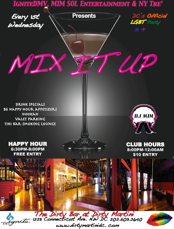 Mix It Up Wednesday at Dirty Bar with DJ MIM