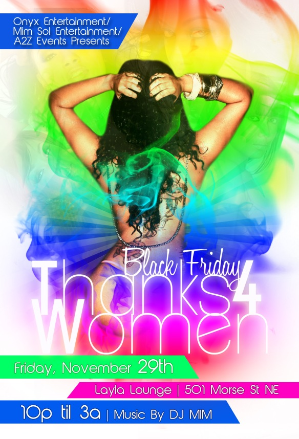Thanks4women Black Friday Bash