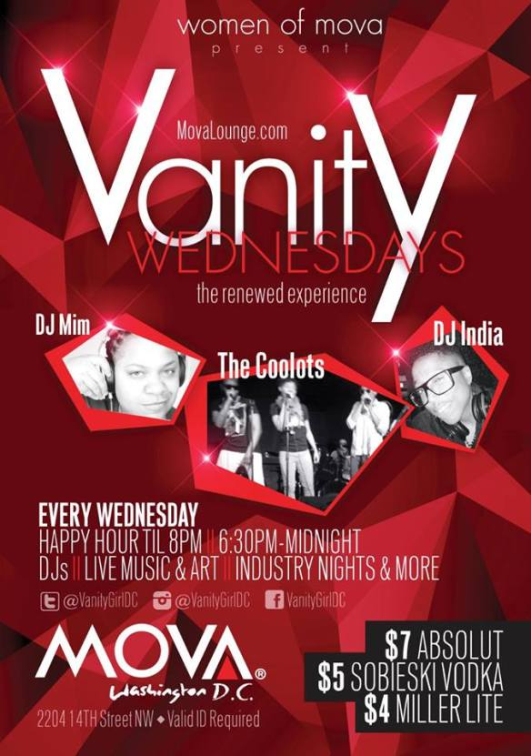 Vanity Wednesdays with DJ MIM