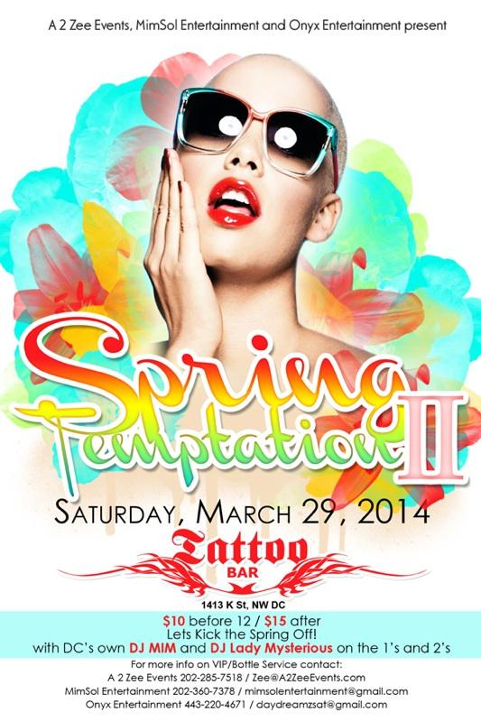 MimSol Entertainment's Spring Temptation II