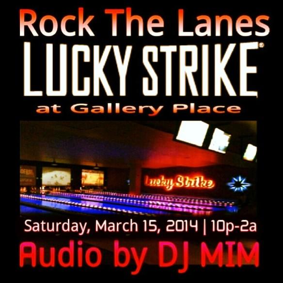 DJ MIM at Lucky Strike DC
