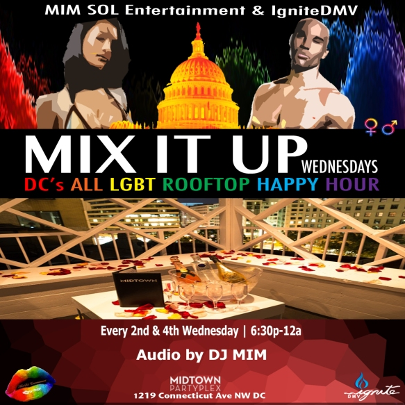 Mix It Up Wednesdays at Midtown DC