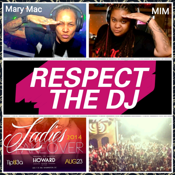 Ladies Takeover III featuring DJ MIM & DJ Mary Mac
