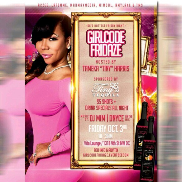 Girl Code FRIDAZE Hosted by TINY with DJ MIM