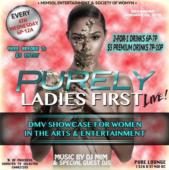 Purely Ladies First LIVE!!