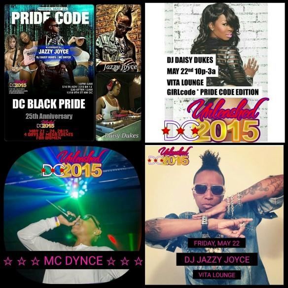 DC Black Pride 2015 - Pride Code at Vita Lounge