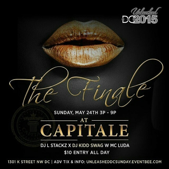 DC Black Pride 2015 - The Finale Day Party at Capitale DC